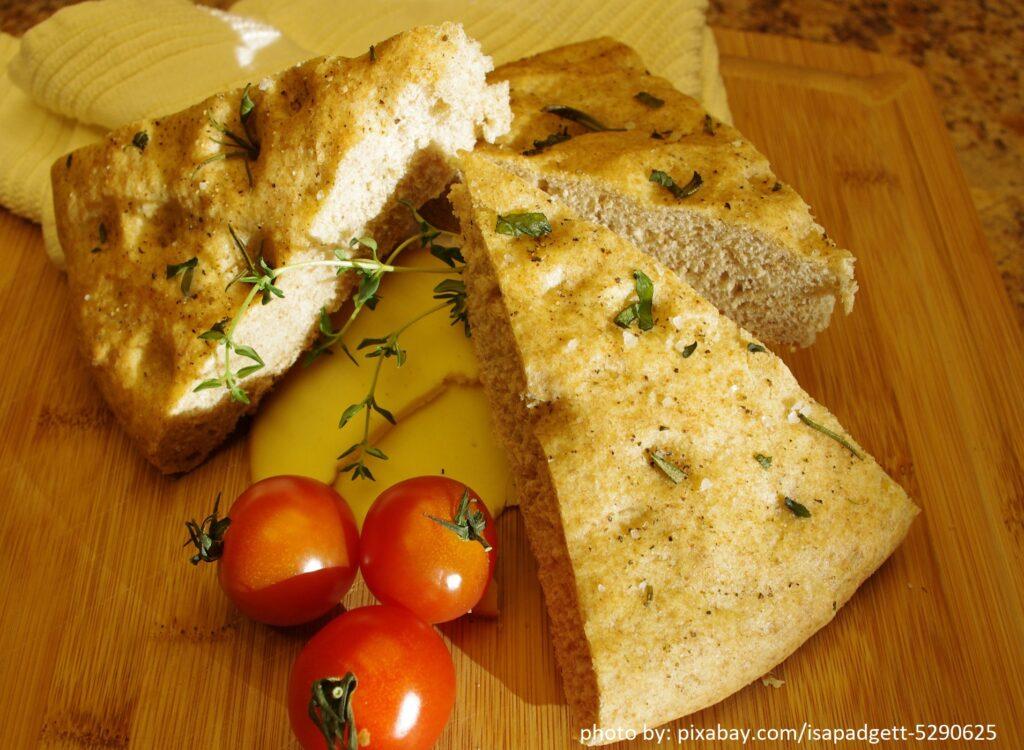 Resep Roti Focaccia Khas Italia
