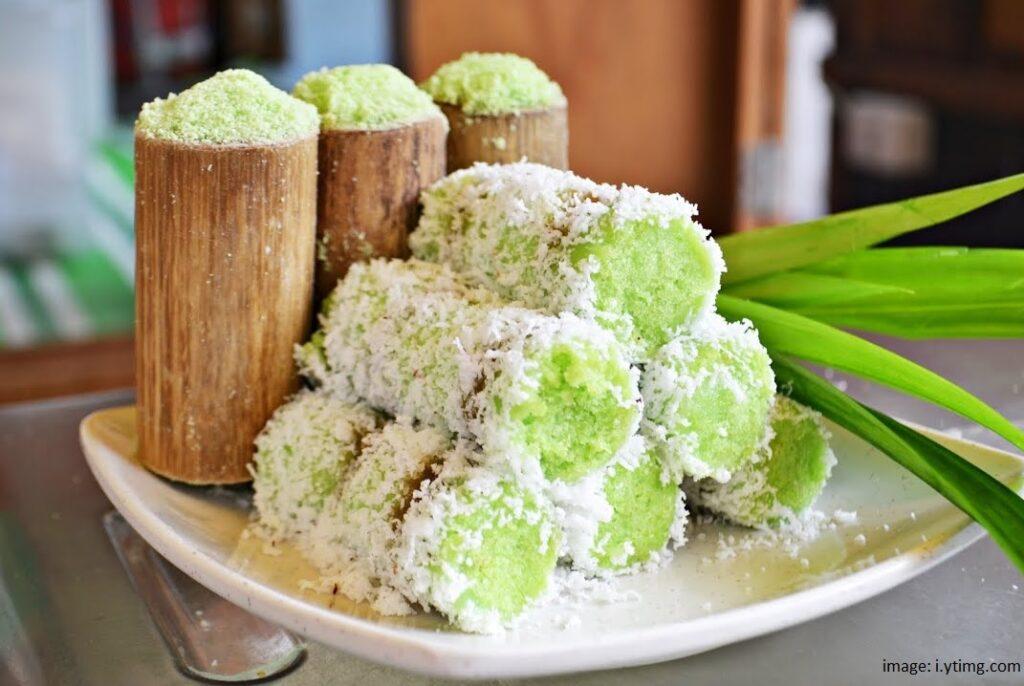 Resep Kue Putu Bambu Pandan Original