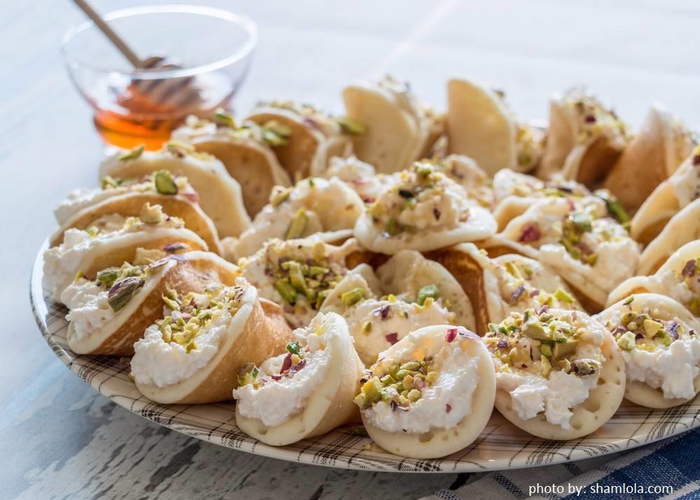Resep Qatayef Pancake Arab