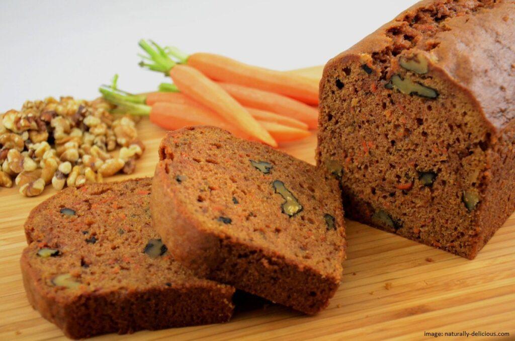 Resep Roti Wortel Sehat dan Lembut - Carrot Bread